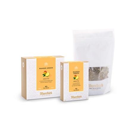 Mango Green Tea Bags